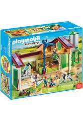 Playmobil Granja con Silo Playmobil 70132