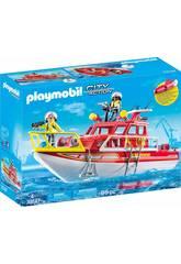 Playmobil Barca di Salvataggio 70147