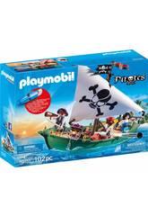 Playmobil Barca Pirata con Motore Sottomarino 70151
