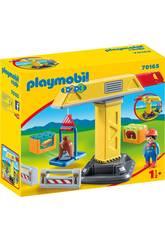 Playmobil 1,2,3 Guindaste Playmobil 70165