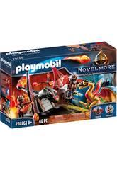 Playmobil Novelmore Entrenamiento del Dragón Equipo Burnham Playmobil 70226