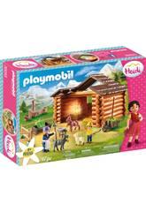 Playmobil Heidi Stalla per Capre di Peter Playmobil 70255