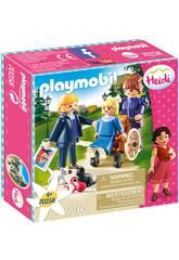 Playmobil Clara, Père et Mlle. Rottenmeier Playmobil 70258