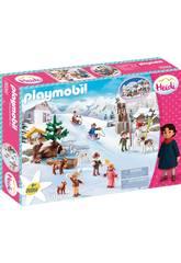Playmobil Heidi Il Mondo d'Inverno 70261
