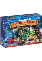 Playmobil Calendário de Advento Piratas 70322