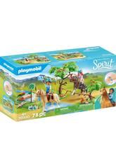 Playmobil Spirit Desafío en el Rio 70330