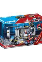 Playmobil Commissariat Forces Spéciales Mallette Playmobil 70338