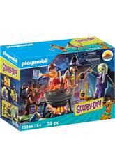 Playmobil Scooby-Doo Aventura en el Caldero de la Bruja 70366