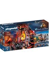 Playmobil Novelmore Mine de lave des Burnham Raiders 70390
