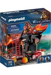 Playmobil Novelmore Tour d'attaque mobile des Burnham Raiders 70393