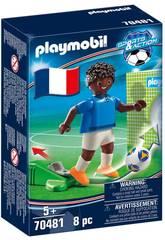 Playmobil Joueur de Football Francce 70481