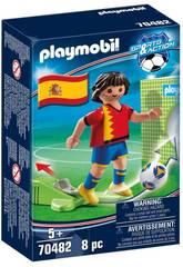 Playmobil Jugador de Fútbol España 70482