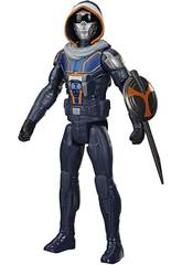 Black Widow Figura Titan Hero Taskmaster Hasbro E8737