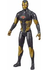 Avengers Figurine Titan Gold Iron Man Hasbro E7878