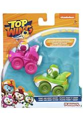 Top Wing Pack 2 Mini Veículos Brody and Betty Racers Hasbro E5352