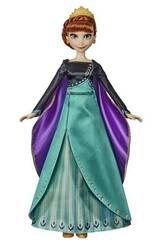 Frozen 2 Muñeca Anna Aventura Musical Hasbro E8881