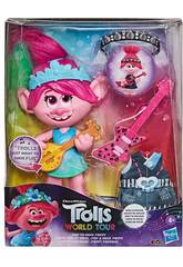 Trolls World Tour Boneca Poppy Rock Hasbro E9411