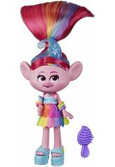 Trolls World Tour Poupée Poppy Glamour Rock