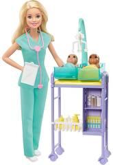 Barbie Je Peut Être Pédiatre Mattel GKH23
