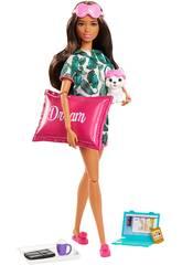 Barbie Bem-estar Antes de Dormir Mattel GJG58
