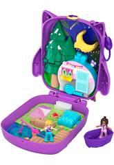 Polly Pocket Cofre Polly & Shani Owl Camp Mattel GKJ47