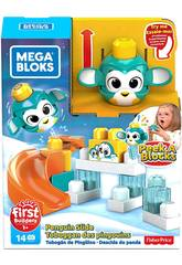 Mega Bloks Pinguin Wirf und Rolle Von Peek a Block Mattel GKX67