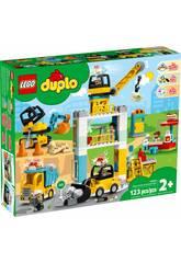 Lego Duplo Town Grúa Torre y Obra 10933