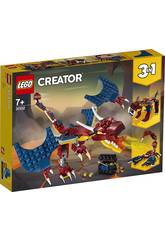 Lego Creator Dragón Llameante 31102