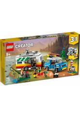 Lego Creator Vacanze Famigliari in Roulotte 31108