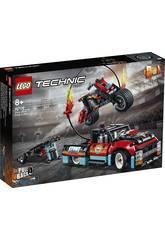 Lego Technic Spettacolo Acrobatico Camion e Moto 42106