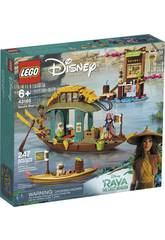 Lego Disney Raya y El Último Dragón Barco de Boun 43185