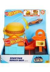 Hot Wheels City Downtown Fast-food Mattel GJK73
