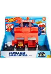 Hot Wheels City Laboratorio Furia del Gorilla Mattel GJK89