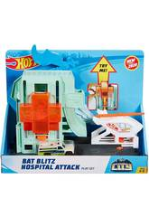 Hot Wheels City Ataque do Morcego no Hospital Mattel GJK90