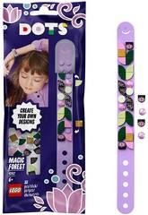 Lego Dots Pulseira Floresta Mágica Violeta 41917