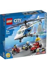 Lego City Police Persecución en Helicóptero 60243