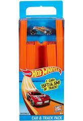 Hot Wheels Pista Reta com Carro Mattel BHT77