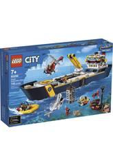 Lego City Oceans Navire d'Exploration 60266