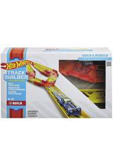 Hot Wheels Track Builder Unlimited Pack di Circuito Diviso Mattel GLC94