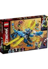 Lego Ninjago Ciberdragon de Jay 71711