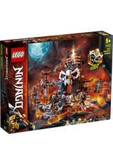Lego Ninjago Masmorras da Feiticeiro da Caveira 71722