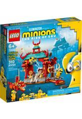 Lego Minions Duelo de Kung-fu de los Minions 75550