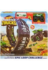 Hot Wheels Monster Trucks Desafio de Loopings Épicos Mattel GKY00