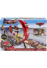 Cars Megalooping Rocket Racing XRS Mattel GJW44