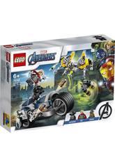Lego Super Heroes Vengeurs Ataque à Moto 76142