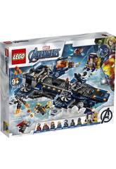 Lego Marvel Avengers Elitrasporto degli Avengers 76153