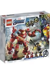 Lego Súper Héroes Hulkbuster de Iron Man vs Agente de A.I.M. 76164