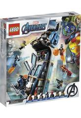 Lego Super Héros Bataille dans La Tour des Avengers 76166