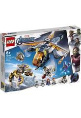 Lego Super Heroes Avengers Soccorso in Elicottero di Hulk 76144