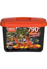 Mega Construx Builders Seau Noire 790 Pièces Mattel GJD26